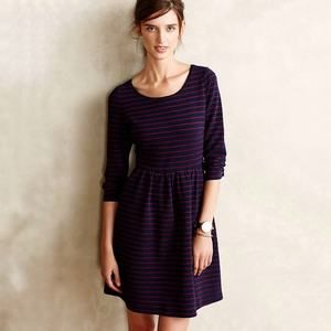 Anthropologie Maeve Size 4 Dress Brenna Striped